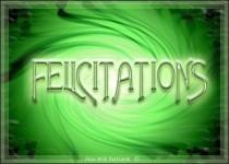 felicitations-Vert