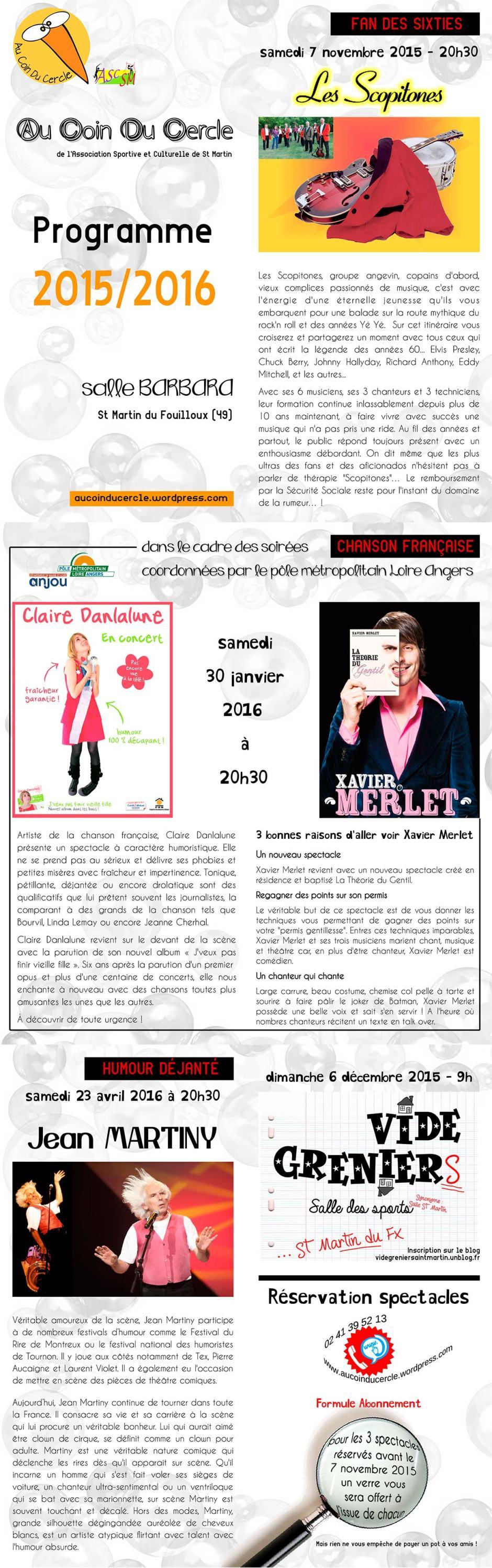 Programme 2015-2016 HautW